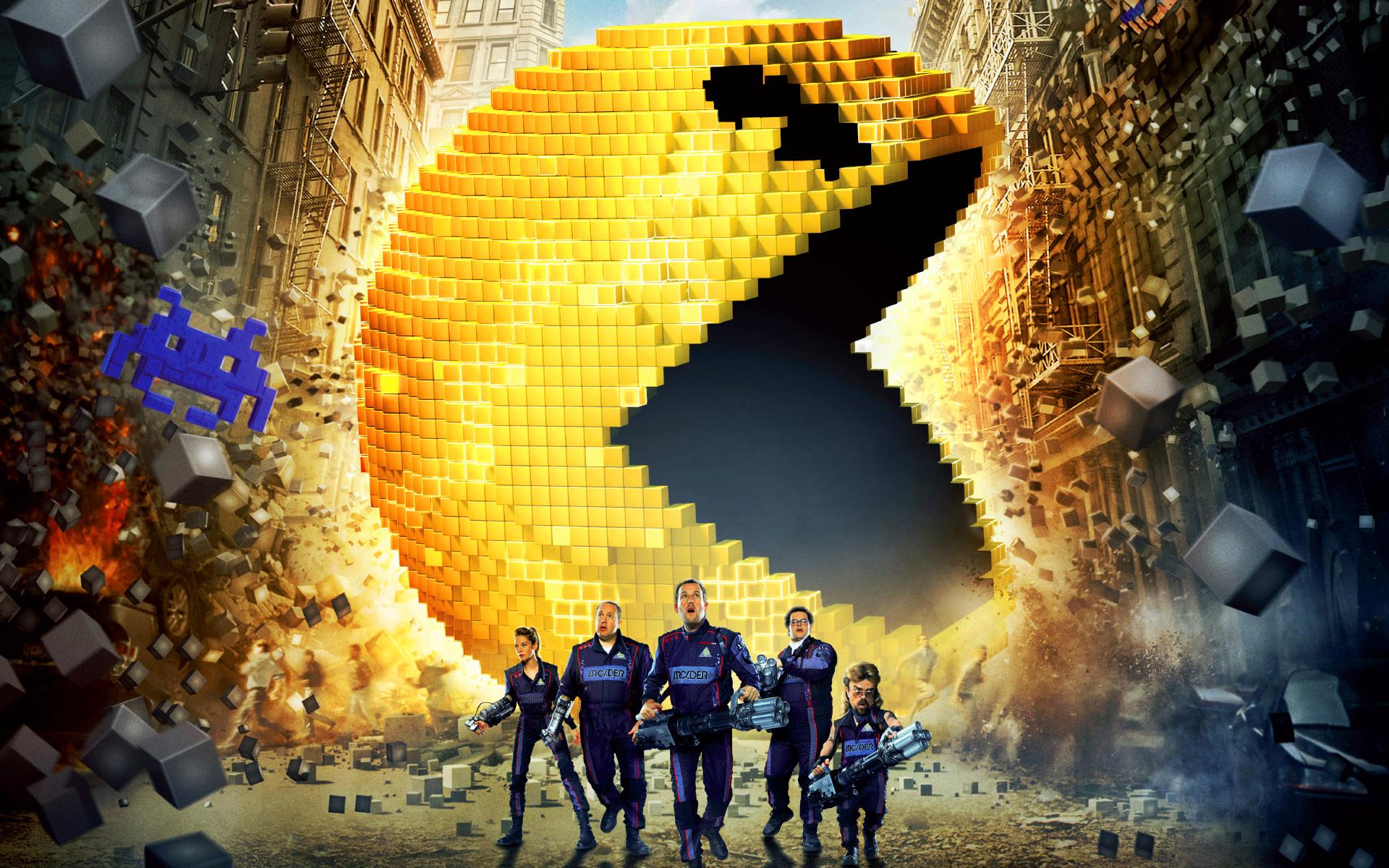 pixels filme 2015 critica