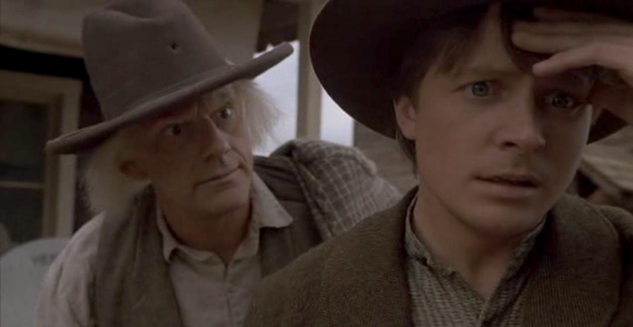 Doc e Marty diálogo