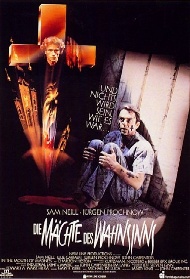 Poster A Beira da Loucura In the Mouth of Madness 1995