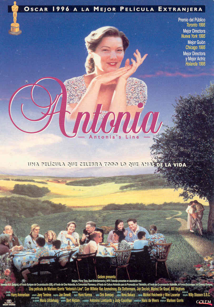 Poster A Exêntrica Família de Antonia Antonia's Line 1995