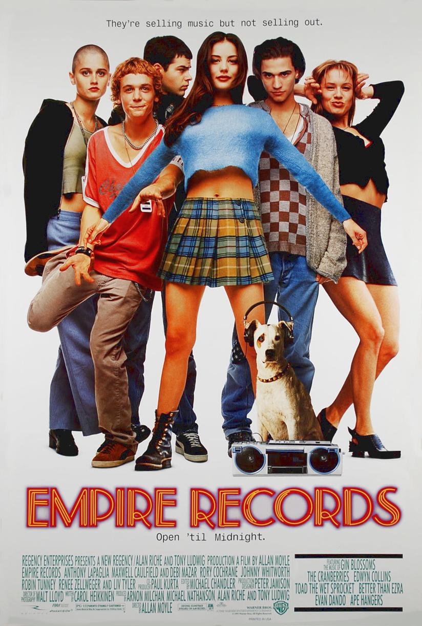 Poster Empire Records Império dos Discos 1995