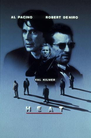 Poster Heat Fogo Contra Fogo 1995