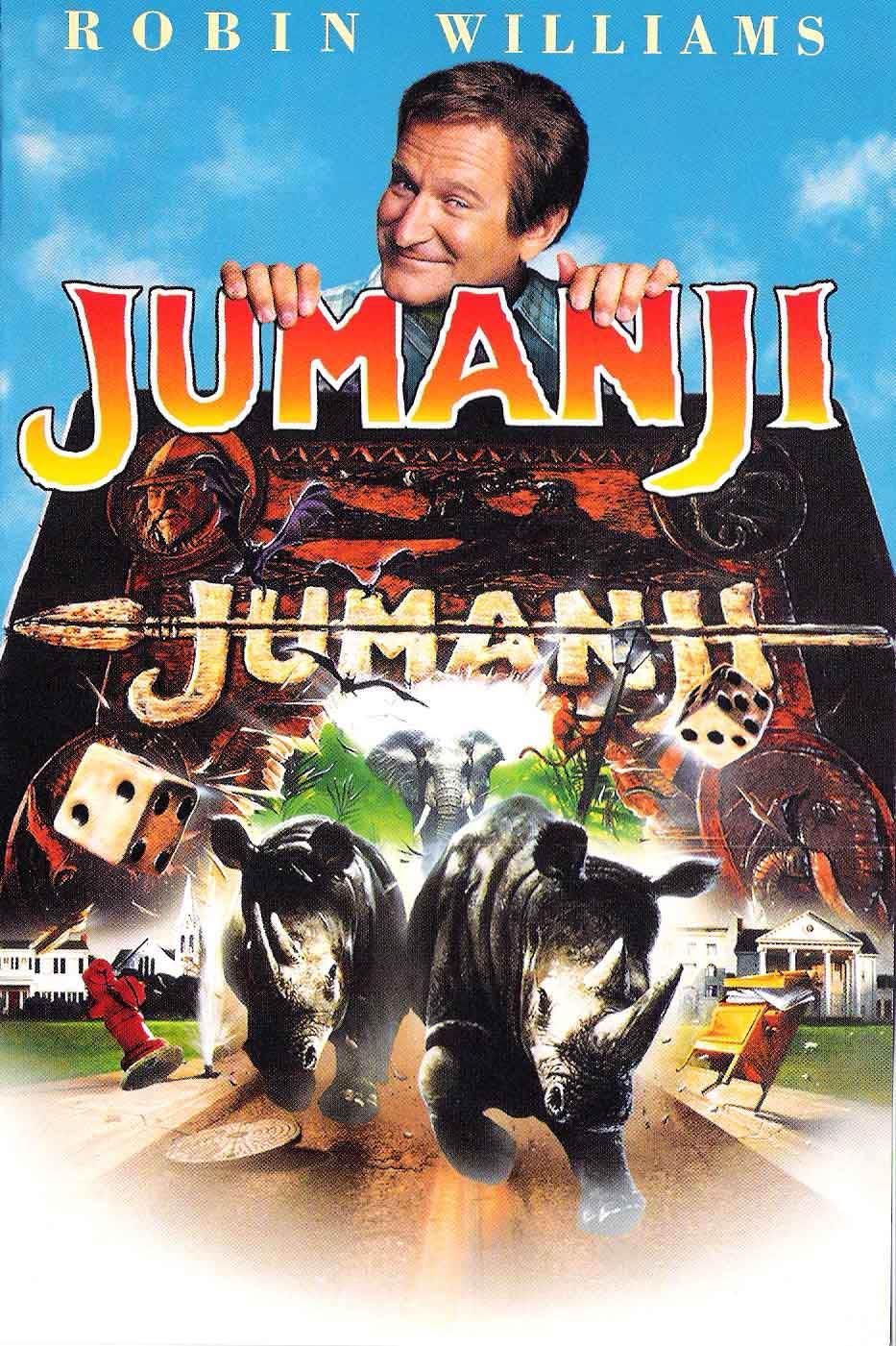 Poster Jumanji 1995