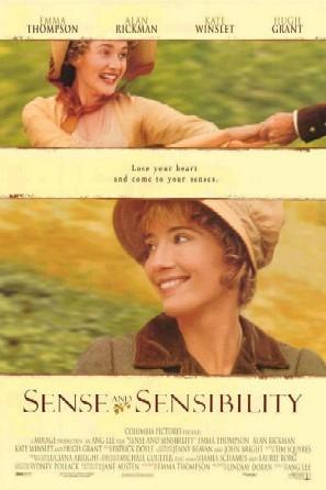 Poster Razão e Sensibilidade Sense and Sensibility 1995