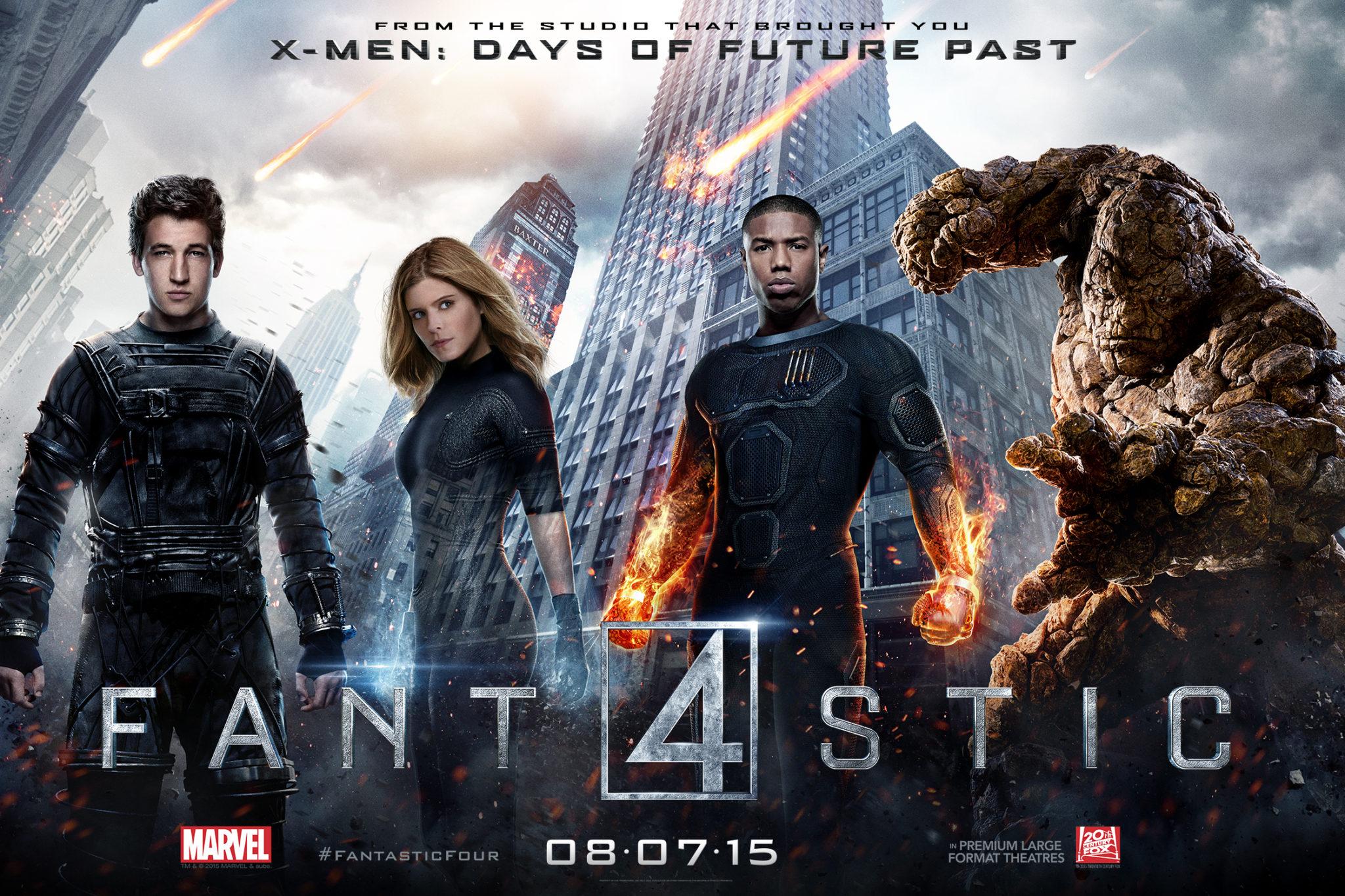 Quarteto Fantastico review do filme
