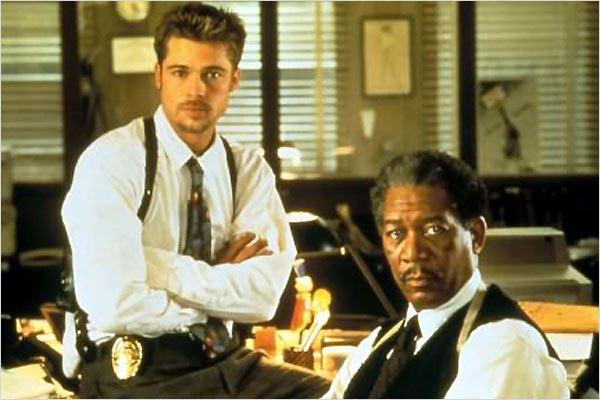20 Anos de Seven – Brad Pitt Morgan Freeman