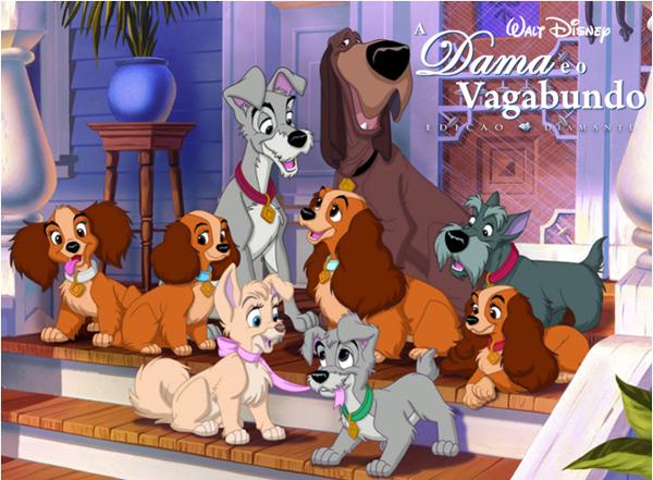 Top 5 Filmes com Cachorros – A Dama e o Vagabundo