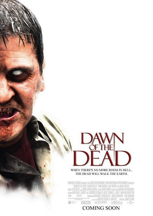 Melhores Filmes de Terror dos anos 2000 – Poster Madrugada dos Mortos