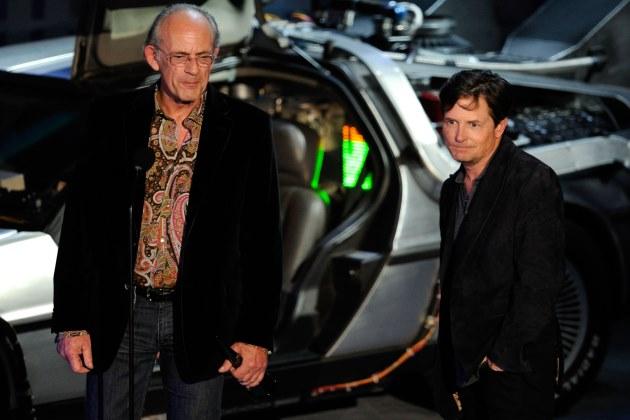 Michael J Fox e Christopher Llloyd