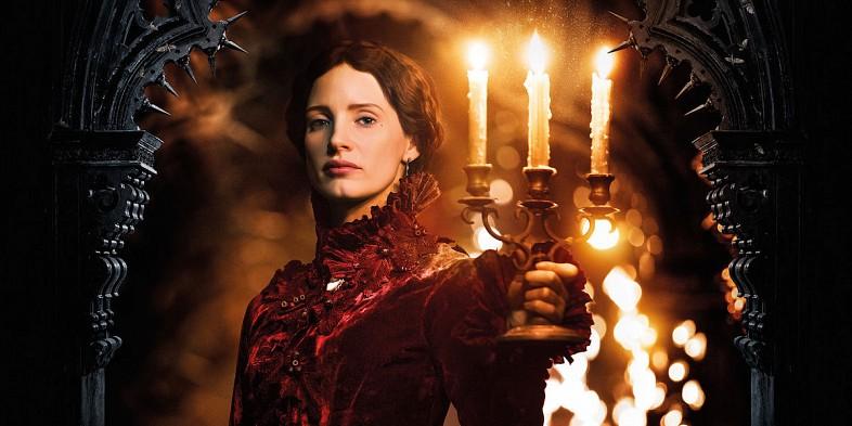 Lucille Sharpe (Jessica Chastain) – Colina Escarlate