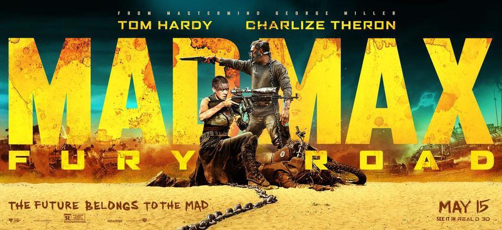 Mad Max melhores cartazes de 2015
