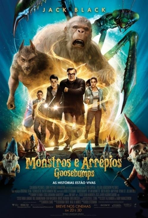 Melhores filmes de aventura de 2015 – Goosebumps