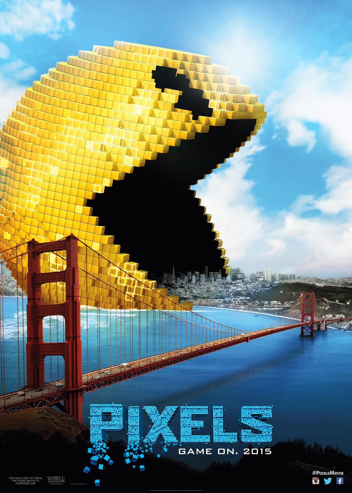 Piores filmes de 2015 – Pixels