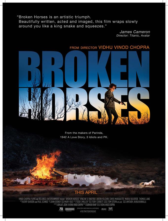 Poster Broken  Horses