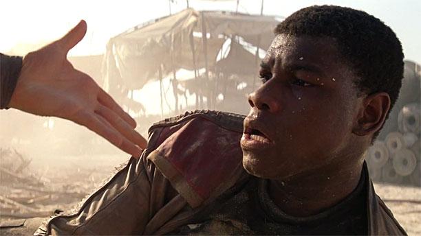 Star Wars John Boyega hand