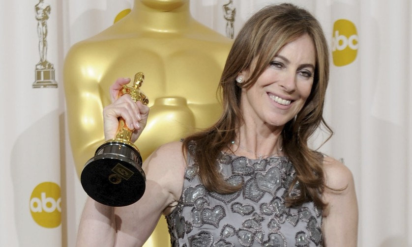 Kathryn Bigelow, the first woman to win the best director Oscar, for The Hurt Locker in 2010.