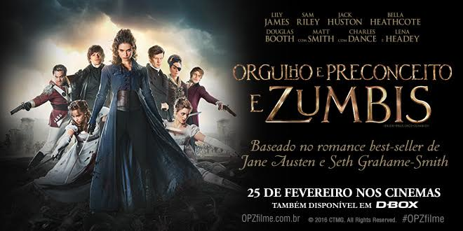 Banner Orgulho E Preconceito e Zumbis