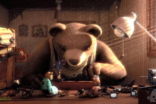 Bear Story – Vencedor Oscar Melhor Curta Animacao