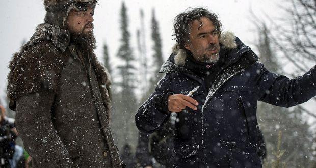 Inarritu e DiCaprio em O Regresso