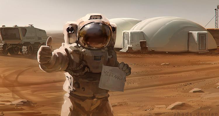 Perdido em Marte – Marcio Sallem