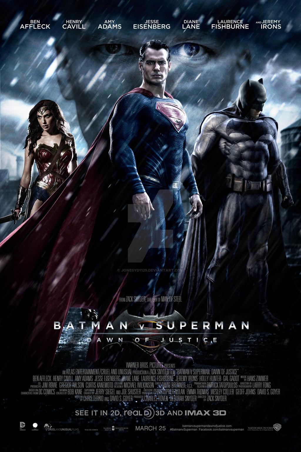Poster Batman vs Superman