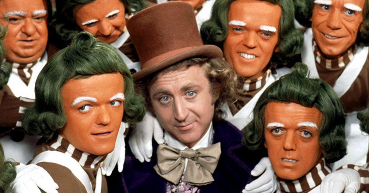 Gene Wilder e Oompa Loompas – Fantastica Fabrica de Chocolates