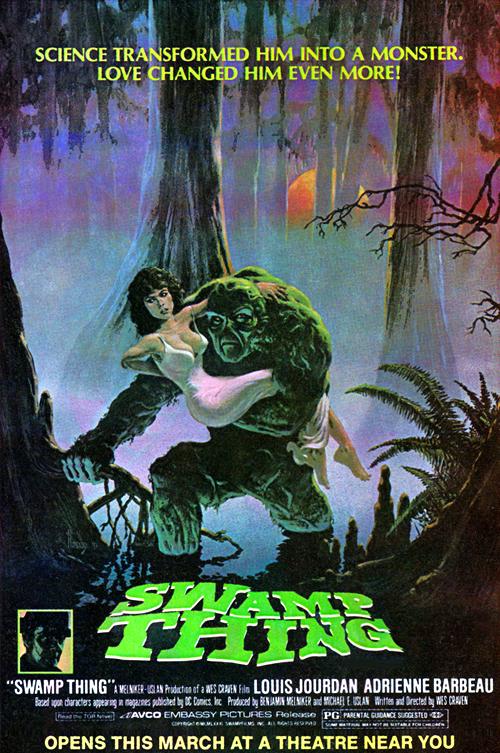 Poster Monstro do Pantano