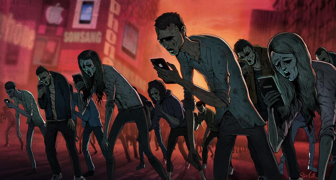 zumbis celular