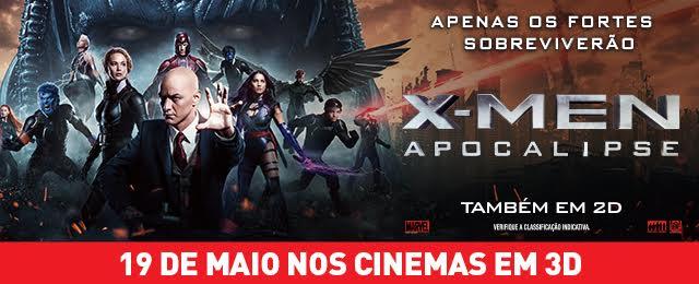 Banner X-Men Apocalipse Data