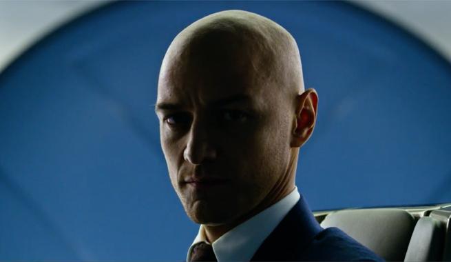 James McAvoy X-Men Apocalipse