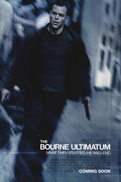 Poster O Ultimato Bourne