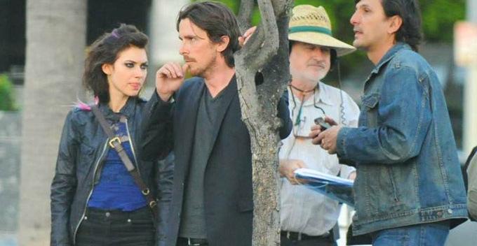 Terrence Malick e Christian Bale