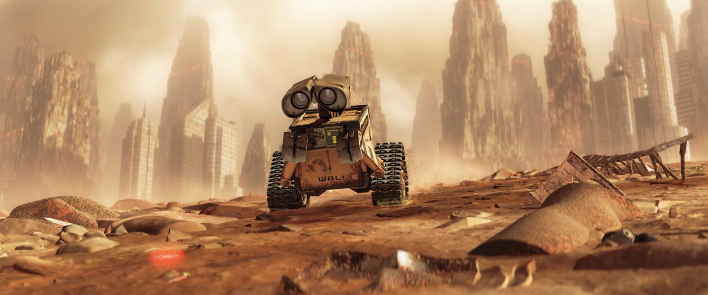 Wall-E sozinho