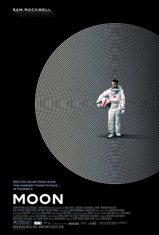Lunar Poster – Melhores Filmes sci-fi dos anos 2000