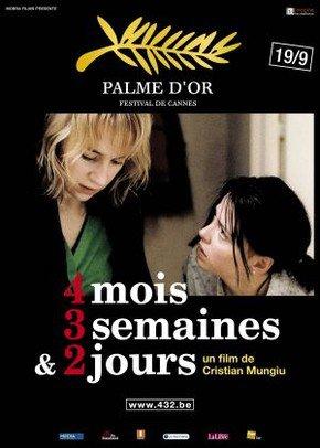 Melhores filmes de drama dos anos 2000 – 4 Meses 3 Semanas 2 horas