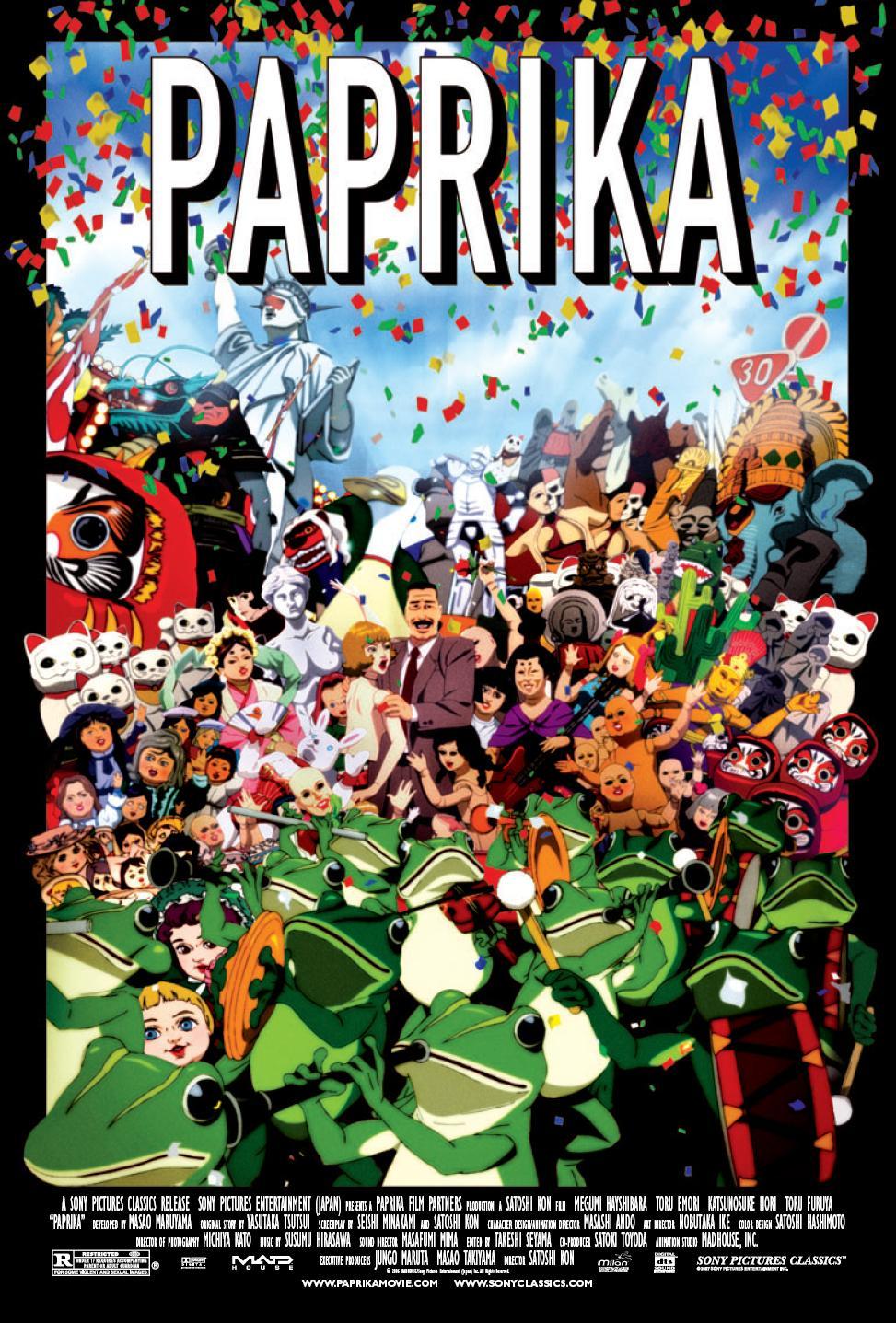 Melhores filmes sci-fi dos anos 2000 – Paprika