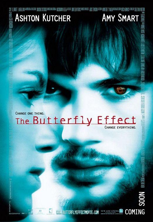 Poster Efeito Borboleta Filmes sci-fi anos 2000