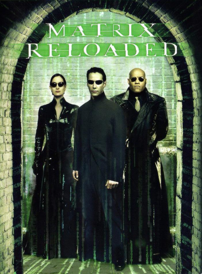 Poster Ficcao Cientifica anos 2000 – Matrix Reloaded