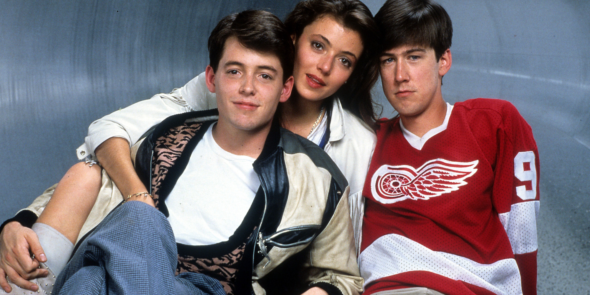 Matthew Broderick And Alan Ruck In 'Ferris Bueller's Day Off'