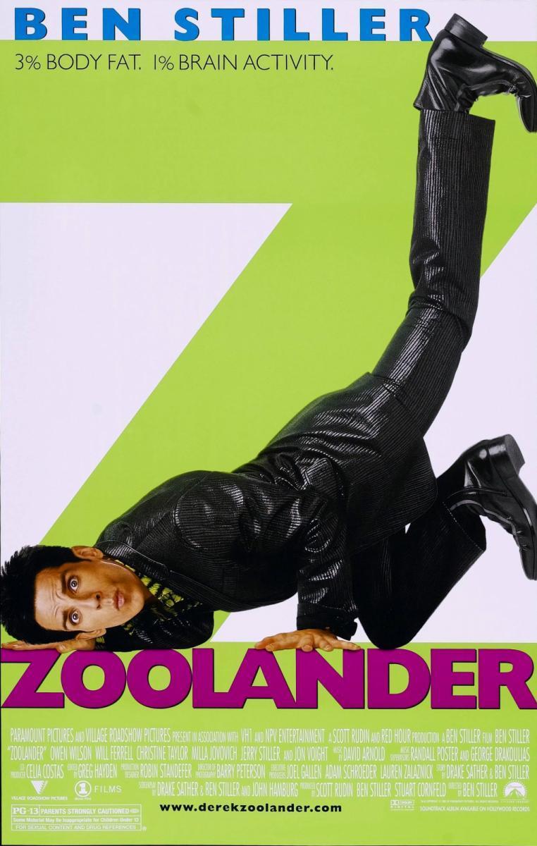 poster melhores filmes de comedia dos anos 2000 – zoolander