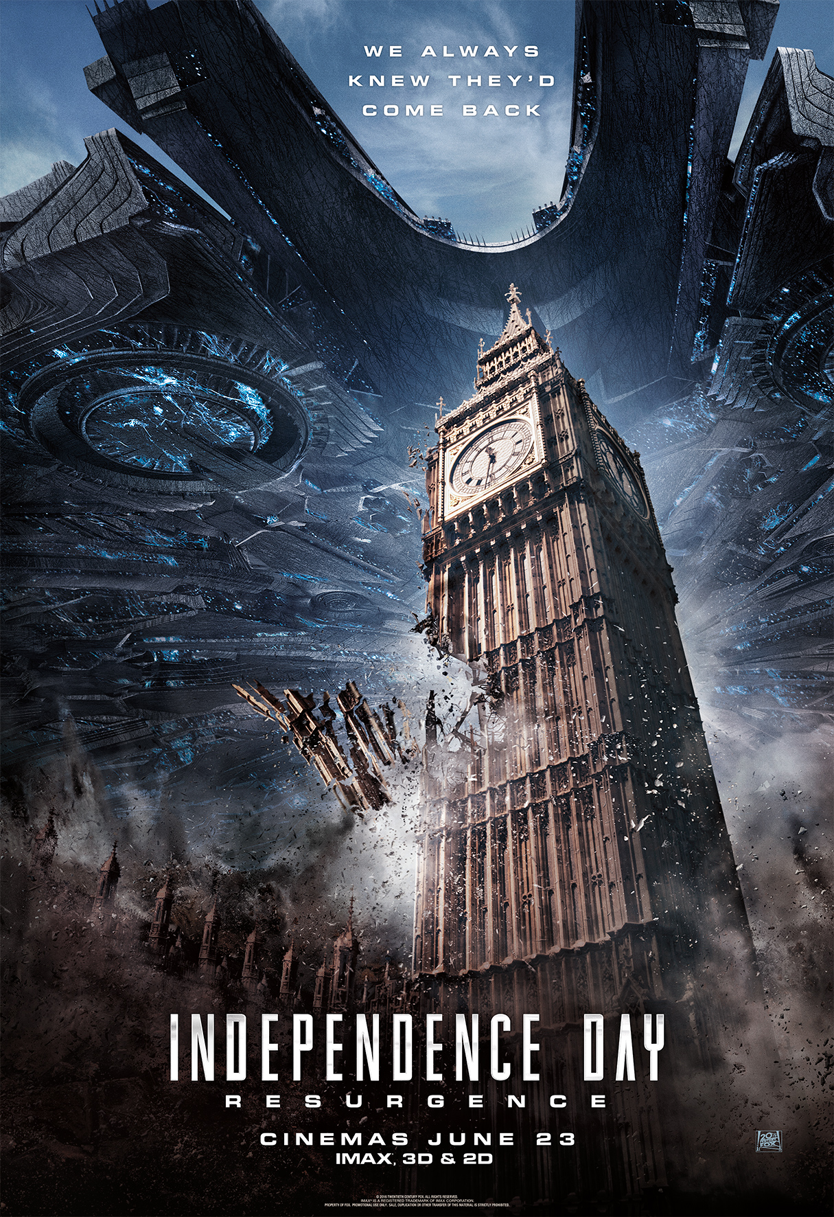 poster independence day ressurgimento