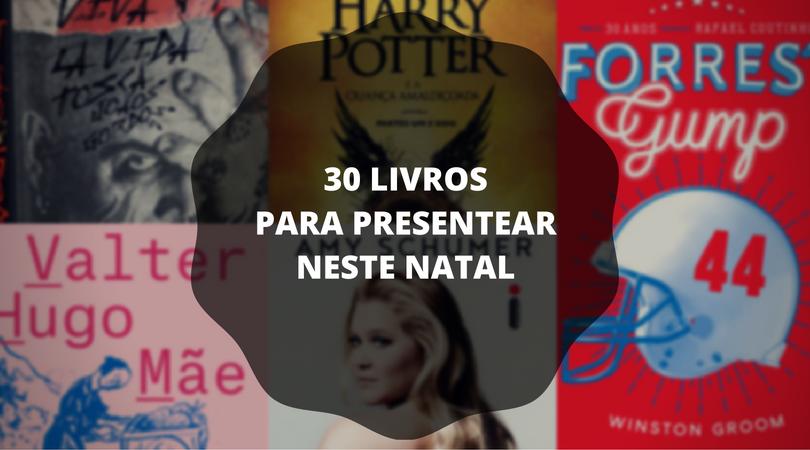 30 livros para presentear