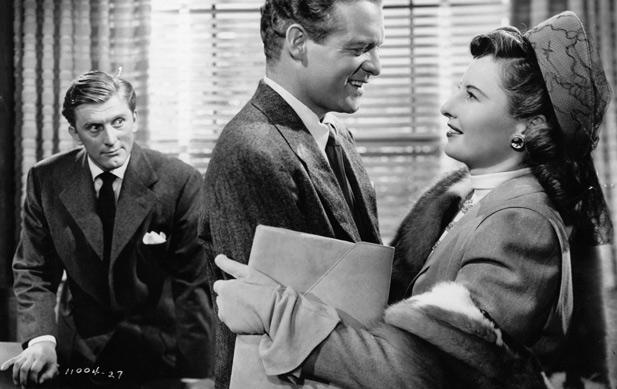 Kirk Douglas And Barbara StanwyckIn 'The Strange Love Of Martha Ivers'