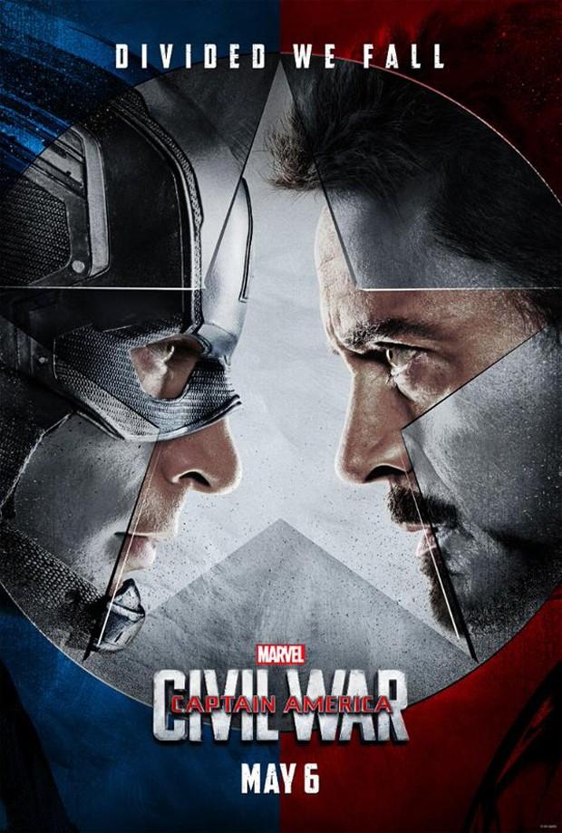 melhores filmes de acao de 2016 – guerra civil