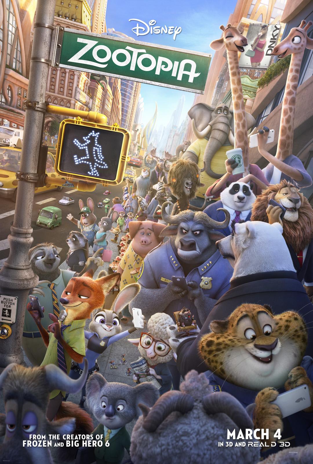 melhores filmes de comedia de 2016 – Zootopia