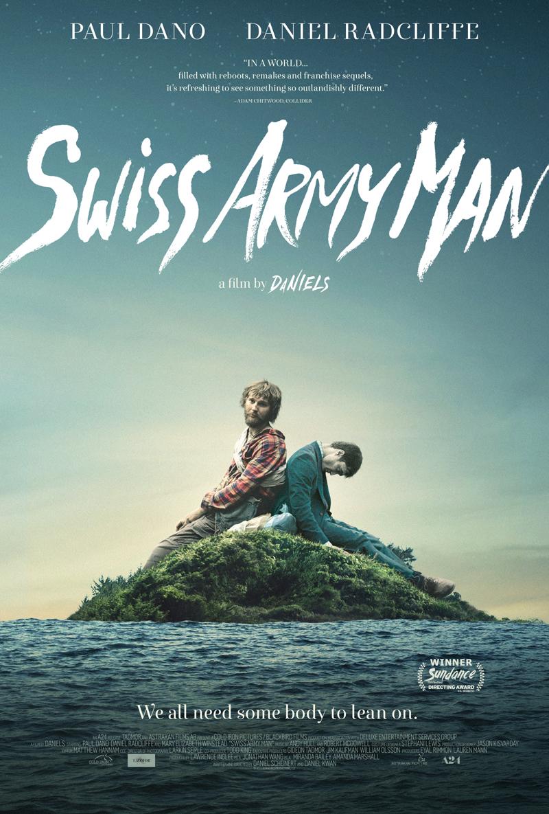 poster melhores filmes de aventura de 2016 – swiss army man