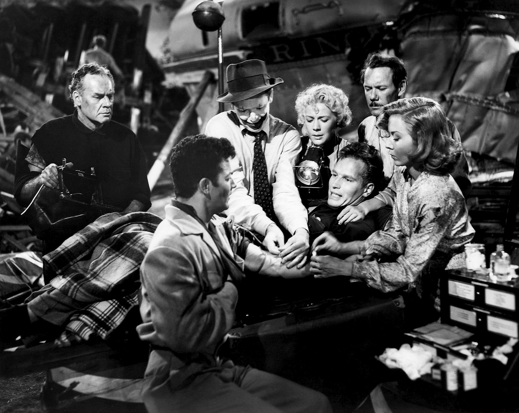 lane chandler, cornel wilde, james stewart, betty hutton, charlton heston, john ridgely & gloria grahame – the greatest show on earth 1952