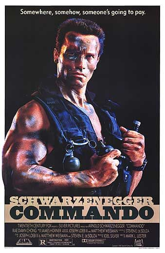 Melhores filmes com Arnold Schwarzenegger – Commando