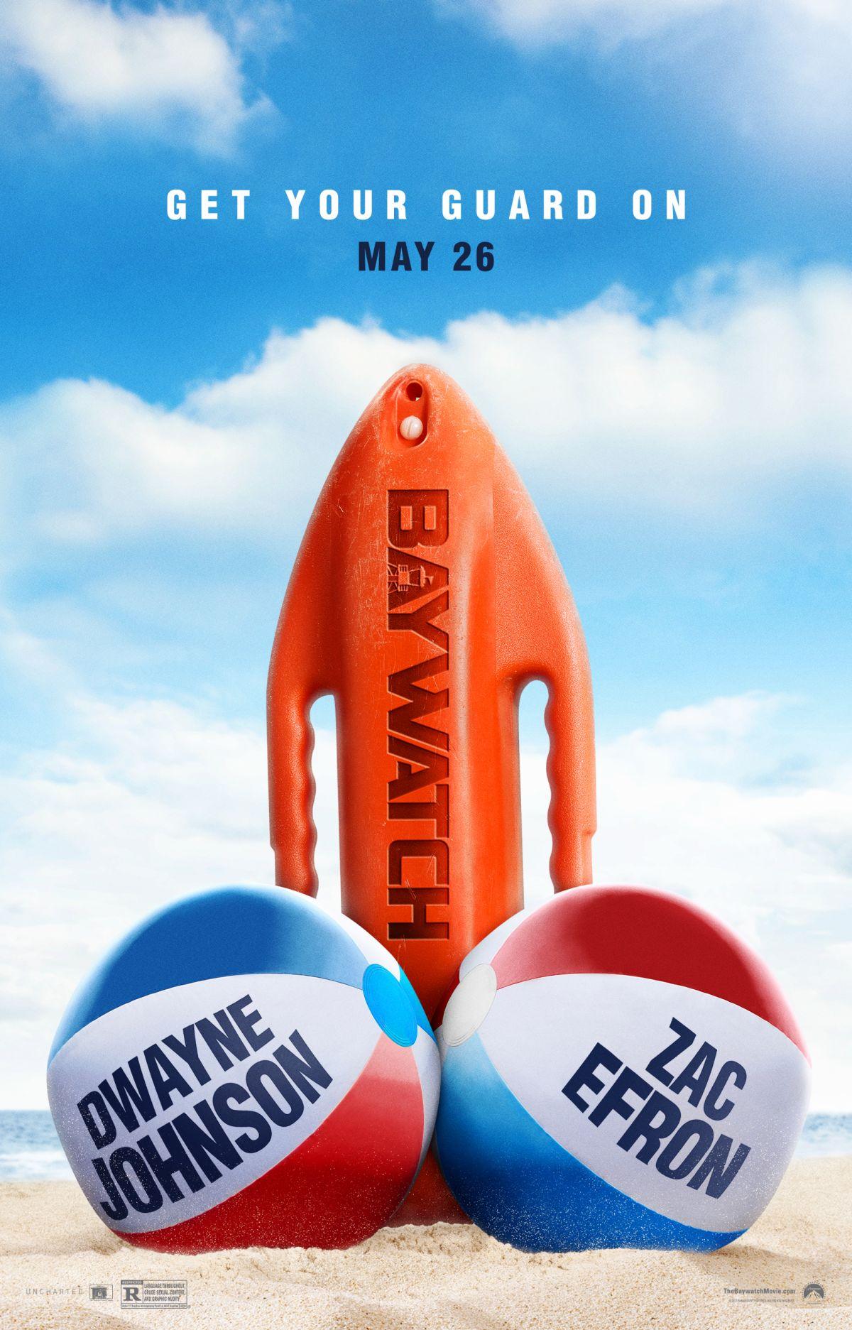 Sim ou Não para o novo pôster de Baywatch