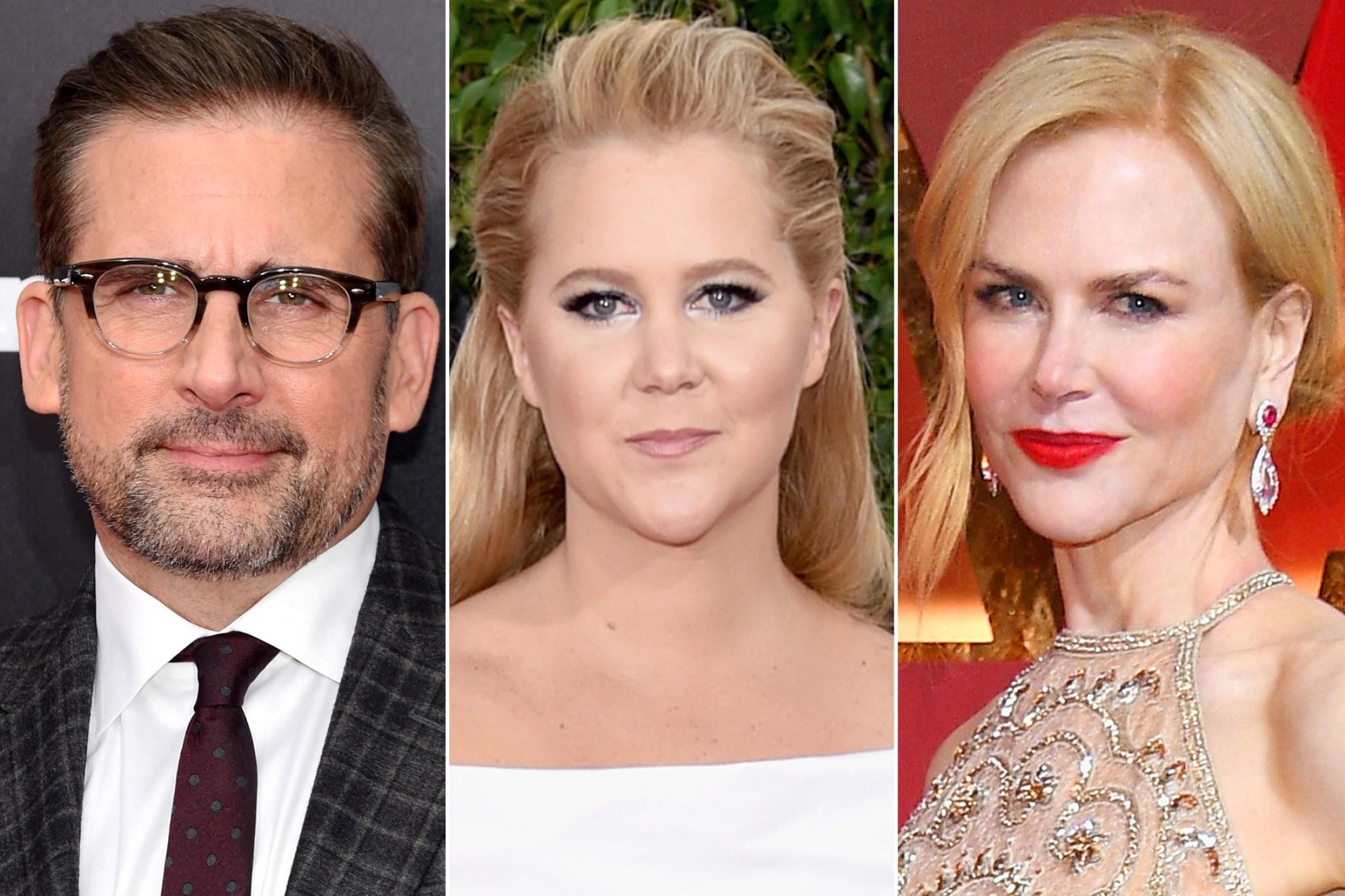 Steve Carell, Amy Schumer e Nicole Kidman vão estrelar She Came To Me